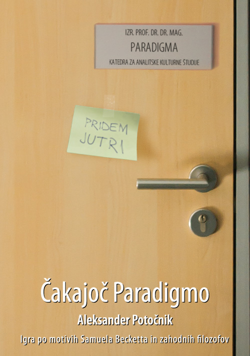 Naslovnica - Čakajoč Paradigmo