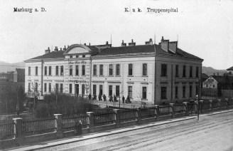 Nekdanja AO vojaška bolnica ob Tržaški cesti