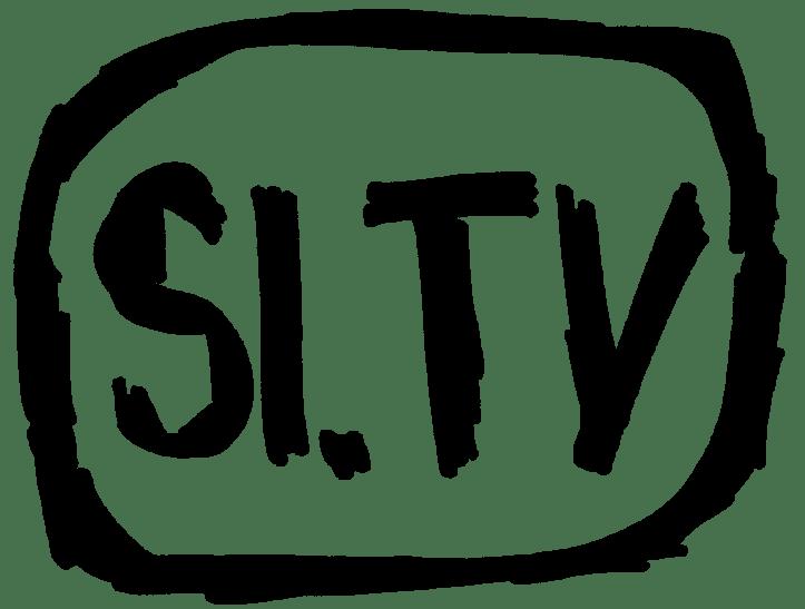 Si-tv logo-črna