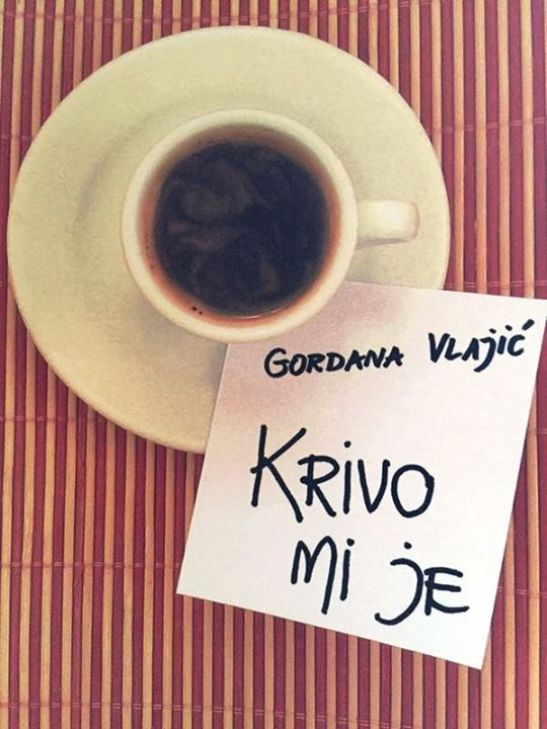 Gordana Vlajić - krivo mi je