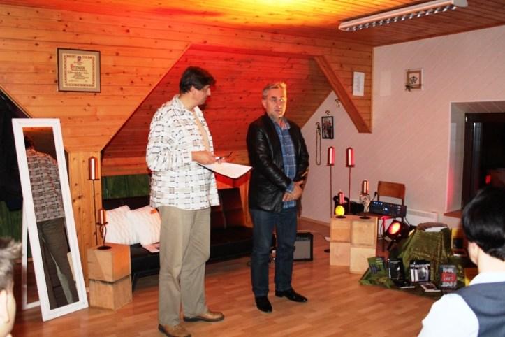 Predstavnik Kulturnega centra Maribor, Dušan Hedl, je povzel odločilne dejavnike za izbor treh avtorjev.