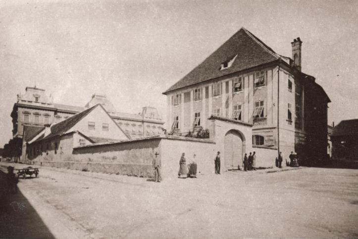 slomskov trg leta 1890