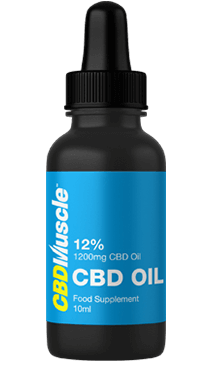 CBDMUSCLE 1200mg CBD Oil