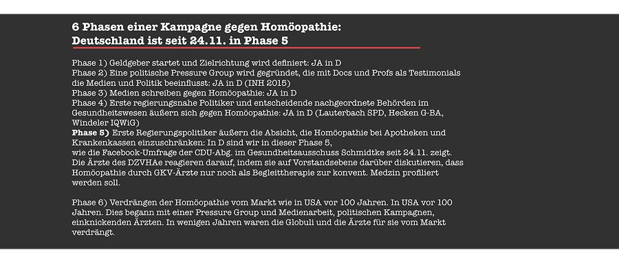phasen homoeopathie