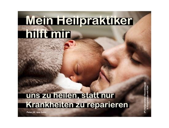 """Heilpraktiker-Kampagne """"Mein Heilpraktiker hilft mir"""" gestartet"""