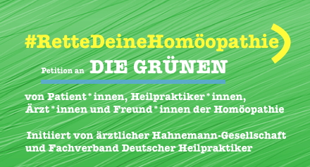 homöopathie petition