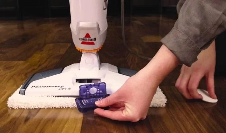 Bissell Powerfresh steam mop hard floor cleaner 1806 reviews