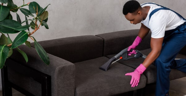 Clean Couch With A Steam Cleaner