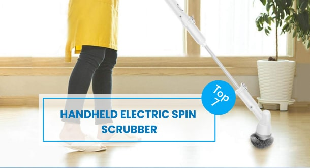 Best Portable Cordless Handheld Electric Spin Scrubber