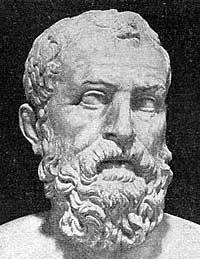 Solon, primer gran legislador y precursor de la Democracia ateniense.