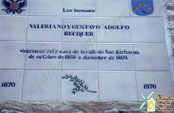 Casa de Bécquer en Toledo