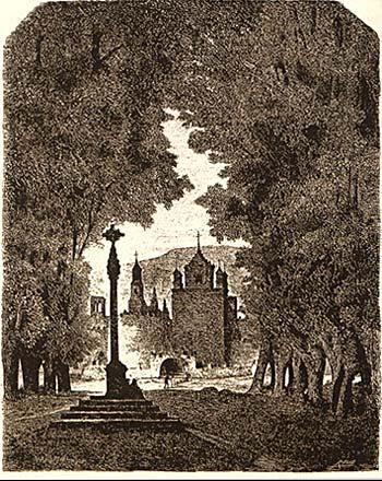 Monasterio de Veruela, Valeriano Bécquer