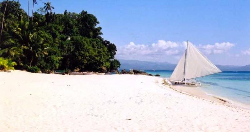 Playa White Beach Filipinas