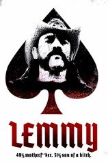 Poster of Lemmy documentary