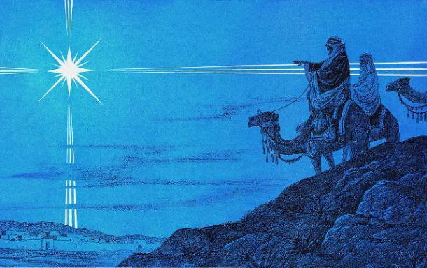 Το Άστρο της Βηθλεέμ (CC BY 2.0 FLICKR gloryandarmor.com)
