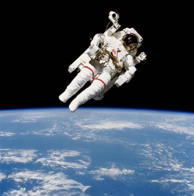 Bruce McCandless II, STS-41-B