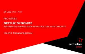 Αφίσα Netflix Dynomite