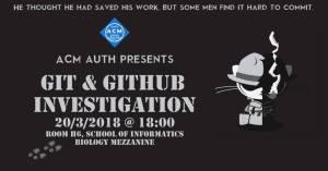 Git and Git Hub Investigation