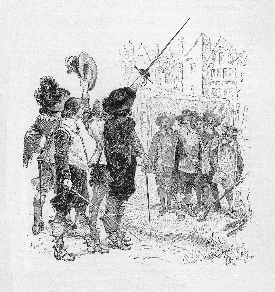 Os Arquetipos Em Os Tres Mosqueteiros De Alexandre Dumas