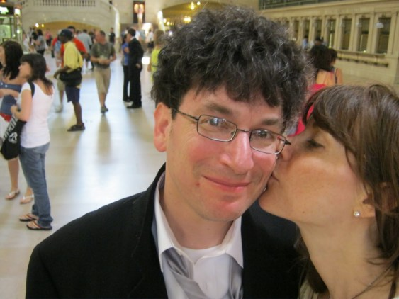 Grand Central Kiss