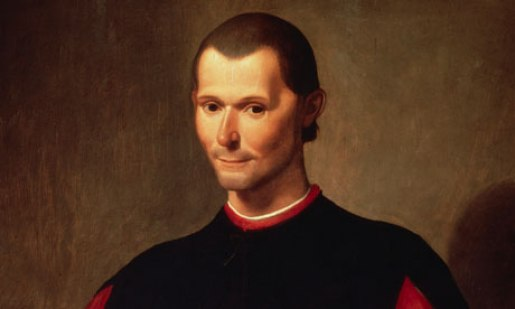 Niccolo Machiavelli by Santi di Tito