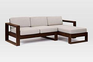 Simple Wooden Sofa Set Designs   The Best Ones   hoMonk