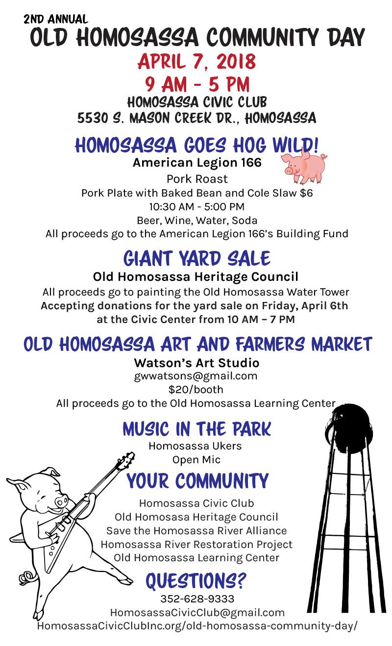 Old Homosassa Community Day