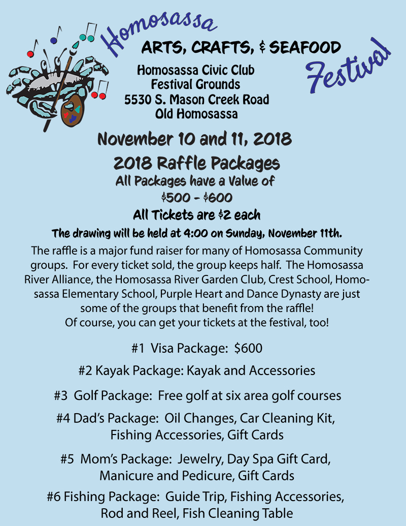 44th Annual Homosassa Arts, Crafts, & Seafood Festival