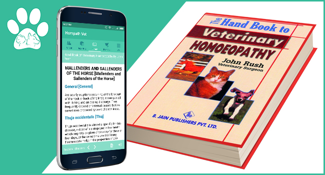 Handbook of Veterinary Homeopathy by Dr. John Rush