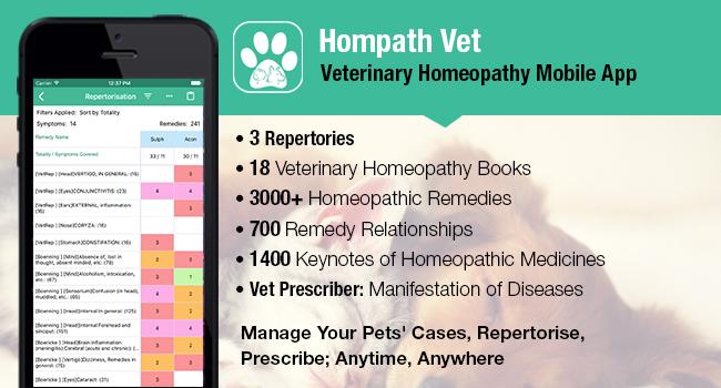 Hompath Vet features