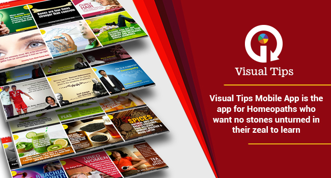 Visual tips mobile app