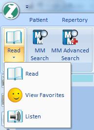 Read materia medica