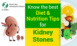 Diet & Nutrition tips for Kidney Stones