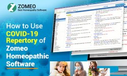 COVID-19 Repertory of Zomeo Homeopathic Software