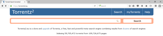 """""""Torrentz was a free, fast and powerful meta-search engine combining results from dozens of search engines."""""""