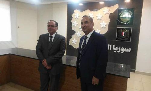 زيارة وفد برنامج الأمم المتحدة الإنمائي لمجلس مدينة حمص