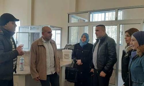 تجهيز مركز حمص الجديدة الوعر لخدمة المواطن