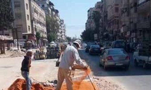 آخر أعمال مدرية الأشغال دائرة الأشغال