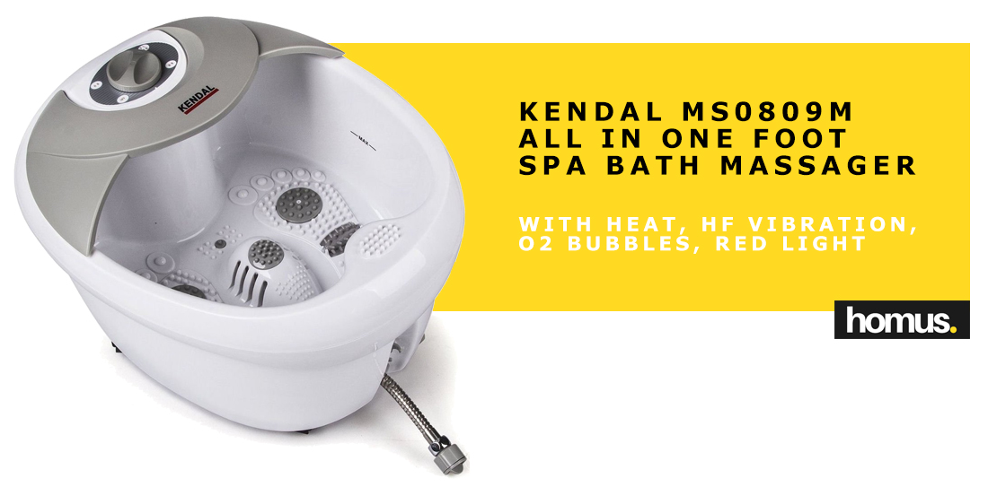 All-in-One Foot Spa Bath Massager with Heat (MS0809M)