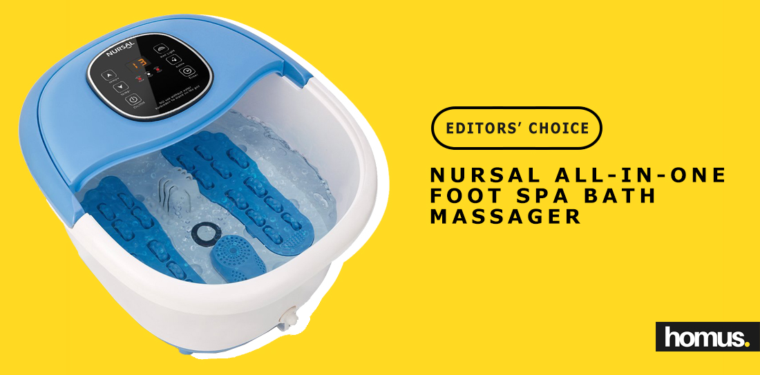NURSAL All-in-one Foot Spa Bath Massager win
