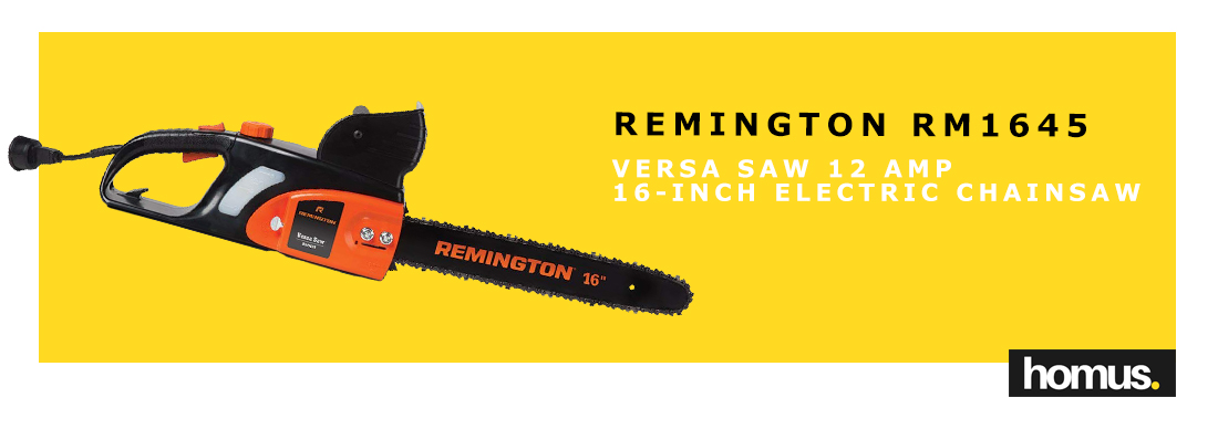 Remington RM1645 Versa Saw 12 Amp 16-Inch Electric Chainsaw