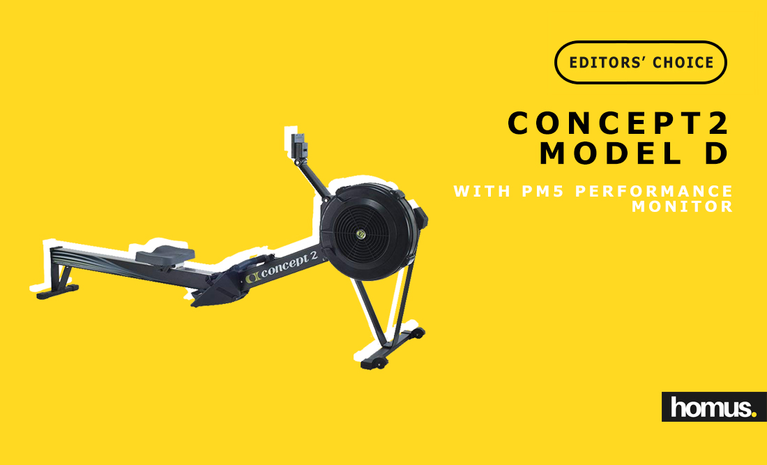 Concept2 Model D with PM5 Performance Monitor Indoo