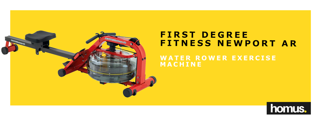 First Degree Fitness Newport AR Rower Water Rower Exercise Machine