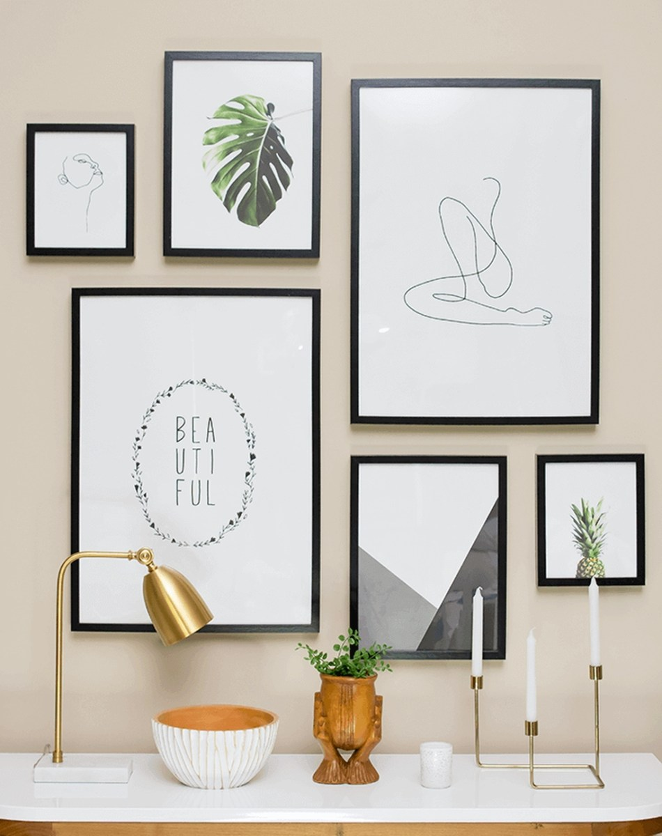 Awesome Gallery Wall Design Ideas 06