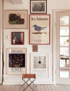 Awesome Gallery Wall Design Ideas 13