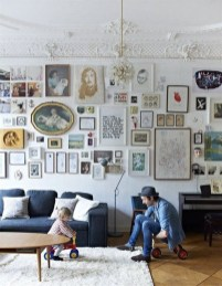 Awesome Gallery Wall Design Ideas 38