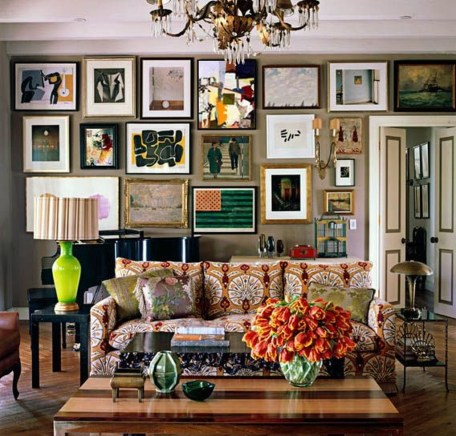 Awesome Gallery Wall Design Ideas 41