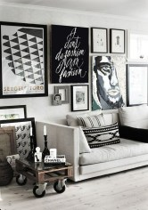 Awesome Gallery Wall Design Ideas 48