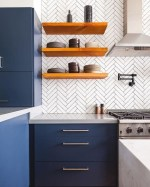 Inspiring Blue And White Kitchen Color Ideas 20