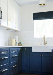 Inspiring Blue And White Kitchen Color Ideas 29